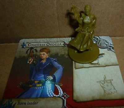 Countess Ordelia Survivor Green Horde Zombicide CMoN D/&D RPG minis Kickstarter