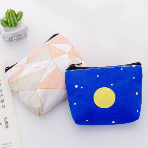 Women Lovely Pocket Change Bag Card Bag Wallet Pouch Purse Coin Holding Card
