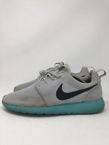 041ba50b98a42 Nike Roshe Run Men Calypso Pure Platinum Grey Teal 511881-013 Size ...