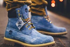 timberland 6 inch homme bleu