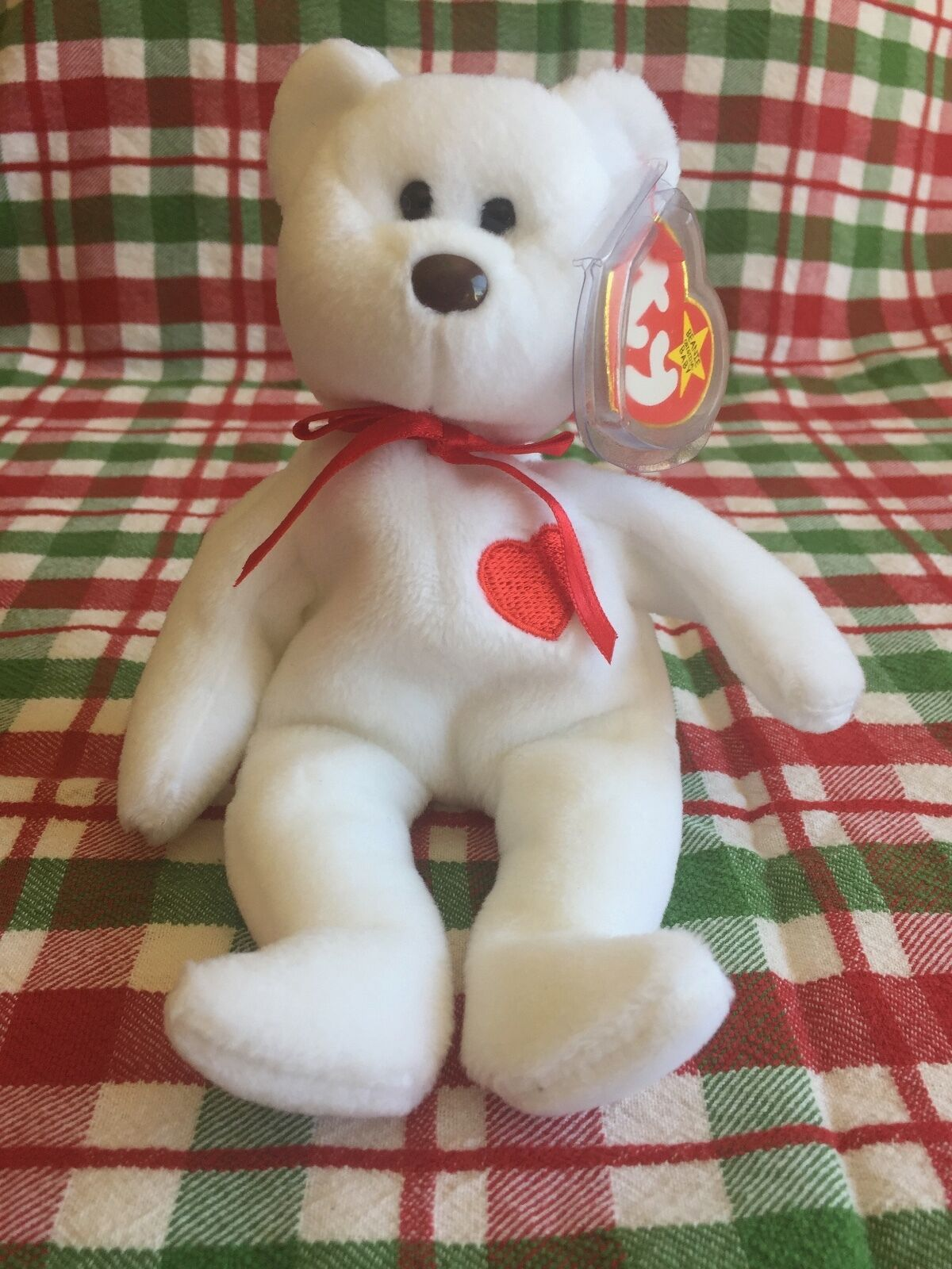 436a4319d14 Retired RARE Valentino Beanie Baby P.V.C more Pellets Misspelled Tag errors  and more P.V.C 28e9a5