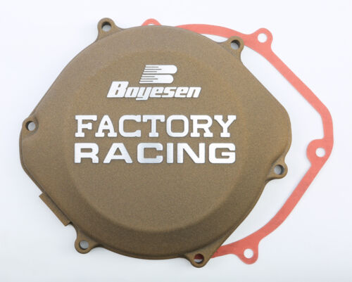 BOYESEN FACTORY RACING CLUTCH COVER CC-02M Fits Honda CR500R,CR250R MAGNESIUM