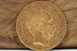 10-Goldmark-1878-E-Sachsen-Albert-von-Sachsen-900-Goldmuenze-Kaiserreich-GM20