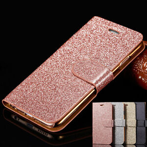 Flip-Magnetic-Glitter-Leather-Stand-Wallet-Pouch-Case-Cover-for-iPhone-6-6s-Plus