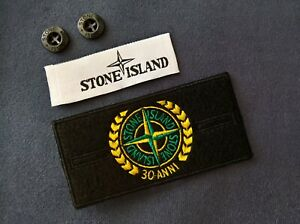 Stone Island Patch 30 Anni with buttons and woven tag