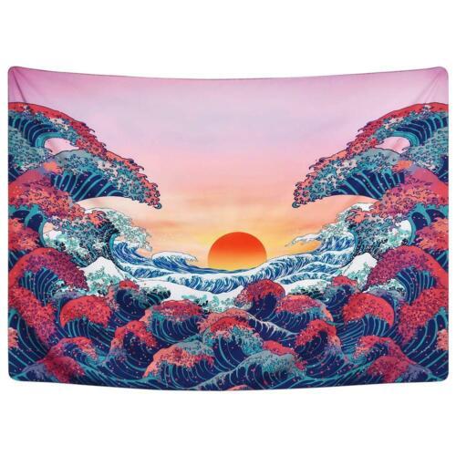 Indian Mandala Tapestry Wall Hanging Carpet Blanket Yoga Mats Beach Home Decor