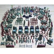 307PCS Soldier Grenade Tank Aircraft Rocket Army Men Sand Scene Kids Model Toy