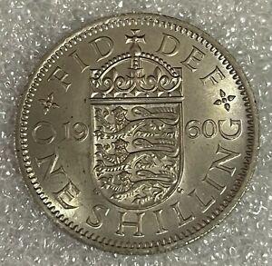 Stunning BU Grade - 1960 English Shilling  - Elizabeth II  #203