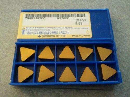 TNMN 334SPC NS260C Sumitomo Carbide Insert