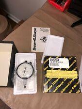 Brown Amp Sharpe Dial Indicator 599 8221 530 0005 Range New