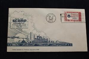 Naval-Cubierta-1960-Eslogan-Cancelado-Launching-Uss-Scamp-SSN-588-3685