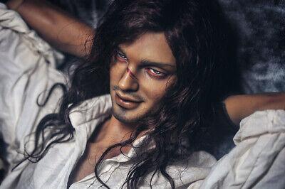 Resin BJD 1//3 handsome man Black Pearl  Free Face Up