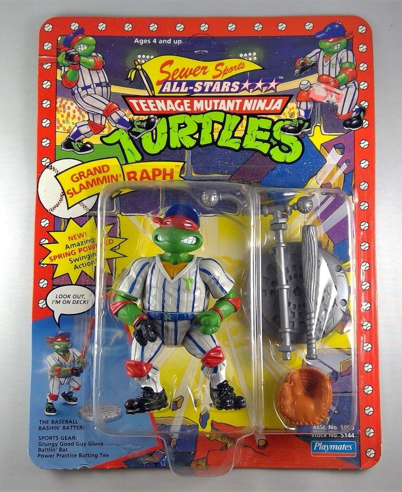 1991 teenage mutant ninja turtles tmnt - kanal - sport - riesen slammin raphael misb