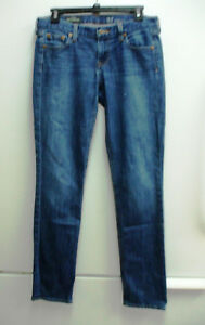 J-Crew-Womens-Denim-Jeans-Matchstick-Dark-Wash-Skinny-Sz-27-Regular