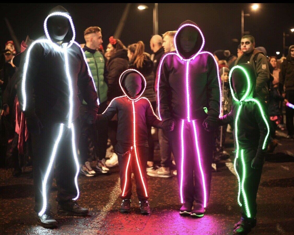 Glowy Zoey LED suits