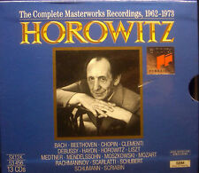 13erCD-Box HOROWITZ - the complete masterworks recordings, 1962-1973, Sony