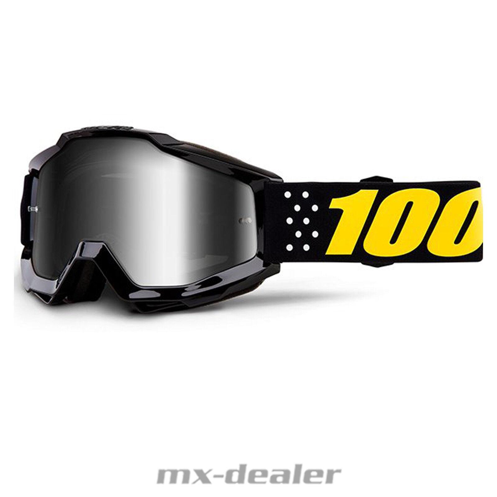 2019 100 % Prozent Accuri Pistol Pistol Pistol verspiegelt MX Motocross Cross Brille BMX MTB ad8cf2