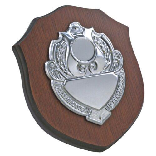 Personnalisé Gravé En Bois Présentation shield//trophy JA00906
