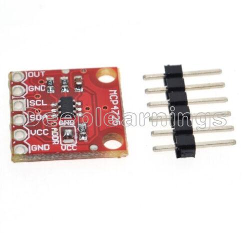 2 PCS MCP4725 I2C DAC Breakout Development Board module 12Bit Resolution Best