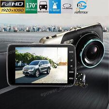 "4"" HD 1080P Car Video Recorder Camera Vehicle Dash Cam DVR G Sensor Night Vision"