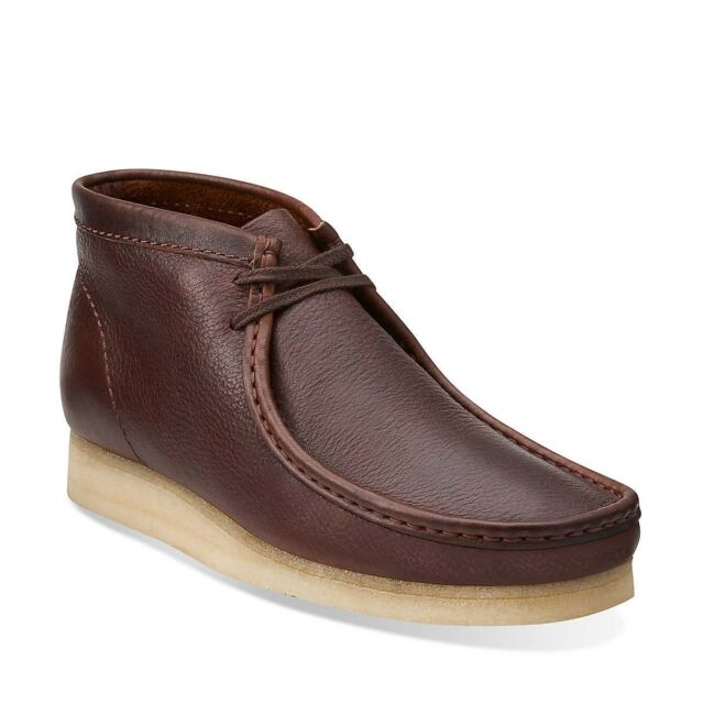 Clarks Originals Brown Leather Wallabee Boots 4iwnejY