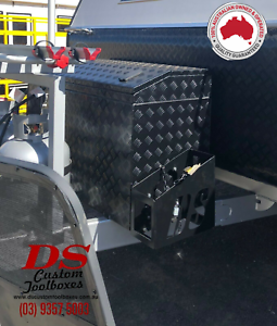Jerry Can Holder (Side Mounted- Toolbox)