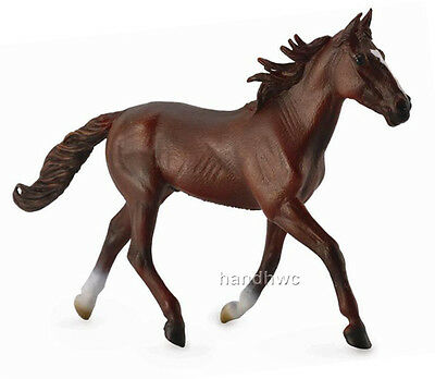 CollectA 88644 Standardbred Pacer Chestnut Horse Toy Model - NIP