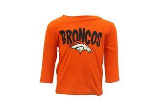 watch 776d7 e1712 Details about Denver Broncos Peyton Manning #18 NFL Team Apparel Infant  Long Sleeve Shirt New