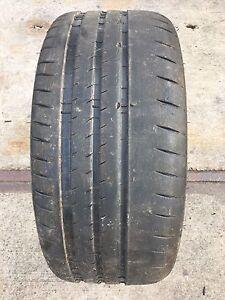 1 Neumáticos 235/35 ZR19 91Y Michelin Pilot Sport Cup 2XL Semi Sliks 4mm
