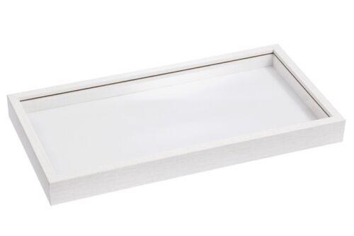 3d-Bois-Cadre avec arête verre pour les images pour remplissage Argent-Cadeaux Hobbyfun