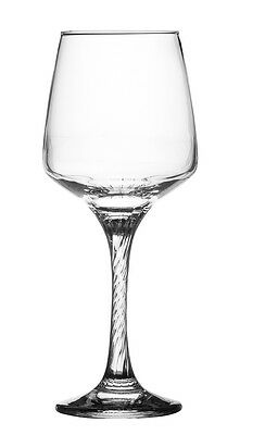 Ravenhead Finesse 35cl Stemmed Wine Glasses Clear Glass Red White Goblets Boxed