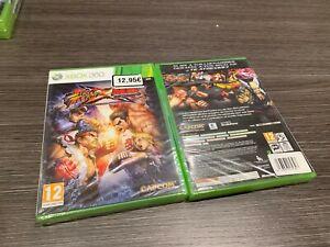Straße Figther X Tekken Xbox 360 Versiegelt Neu Spanisch