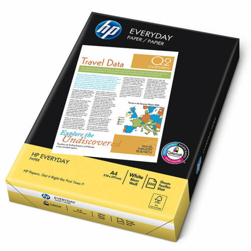 A4 HP Everyday Paper 75gsm A4 210mm x 297mm 500-100,000 Sheets