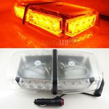 New Amber 24-LED Flash Strobe Warning Magnetic Roof Snow Plow LED Light Mini Bar