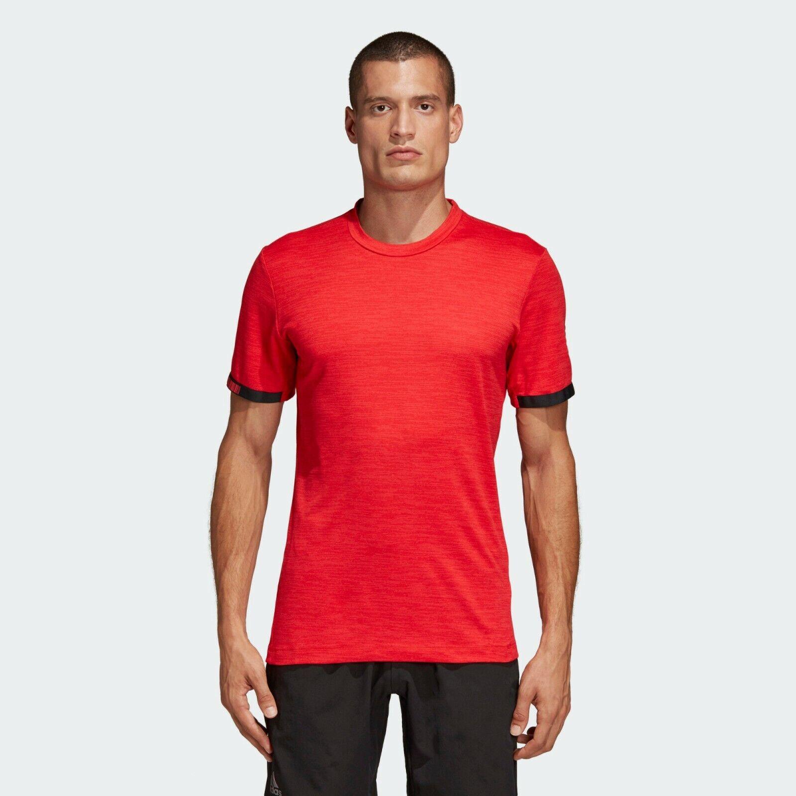 Adidas MatchCode Tee Mens rot Heatherot Solid Active Wear T-Shirt DT4408