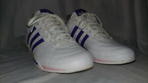 ADIDAS TUSCANY Retro Goodyear Driving Sneakers shoes White