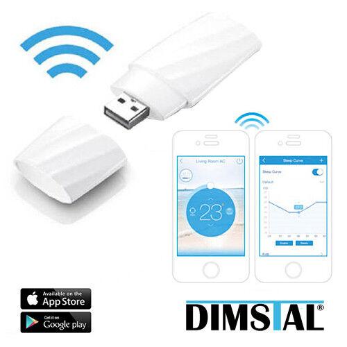 Stick DIMSTAL Klimaanlage Klimagerät SMND//PGSMV//PGMDV WiFi WLAN USB Smart Kit