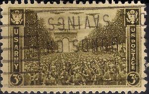 USA. 1945. 3 Cents. U.S. Army (Used)