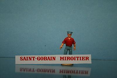 DECALCOMANIE pour MIROITIER SAINT GOBAIN  DINKY TOYS REF 33C DEC047