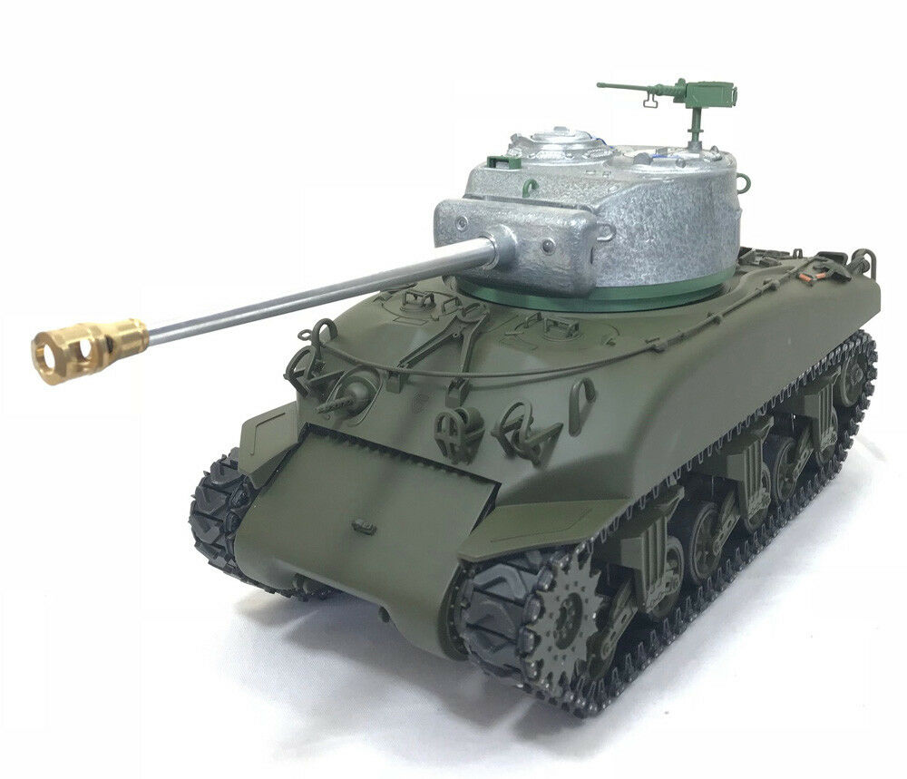 Heng Long MATO Radio Remote Control Tank M4A1 Sherman with Melded Metal Hull BB