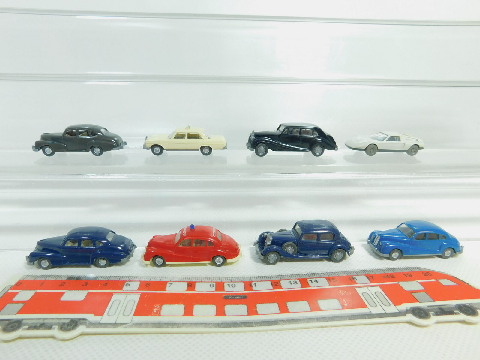 BO624-0, 5 x Wiking H0   1 87 Car  Opel + Rolls Royce + BMW + Mercedes   MB