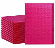 New Listinghblife 6x10 Inches Poly Bubble Mailers Self Seal Hot Pink Padded Envelopes Pa