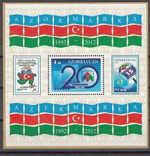Azerbaijan Aserbaidschan MNH** 2012 Mi.943 Bl.115 20th aniv of Azermarka