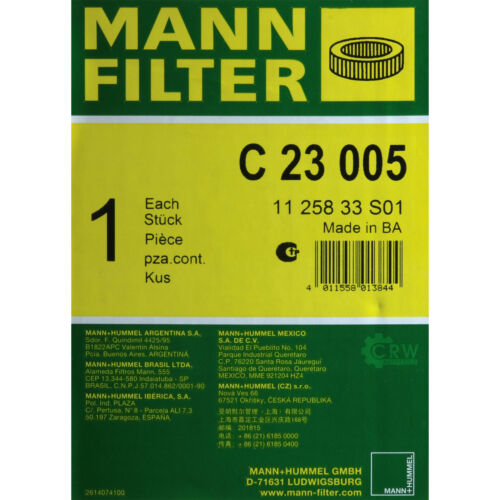 Uomo ARIA-FILTER C 23 005 Mitsubishi Canter pianale//telaio FB /_ FE /_ fg /_ 3.0