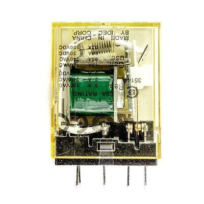 Idec RU4S-CD-D24 Relay Plug-In 4PDT 6A 24VDC