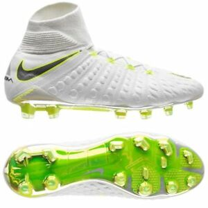 7c541325f6d Nike Hypervenom Phantom III Elite FG WC 2018 DF Soccer Shoes White ...