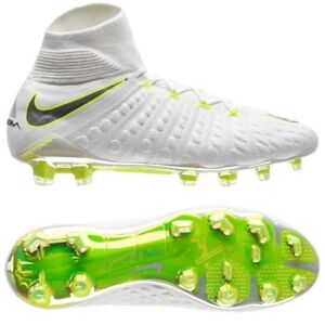 online retailer discount shop new release Details about Nike Hypervenom Phantom III Elite FG WC 2018 DF Soccer Shoes  White / Yellow