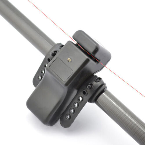 New Electronic Fishing Bite Sound Alarm LED Light Alert Bell Band On Fishing Rod