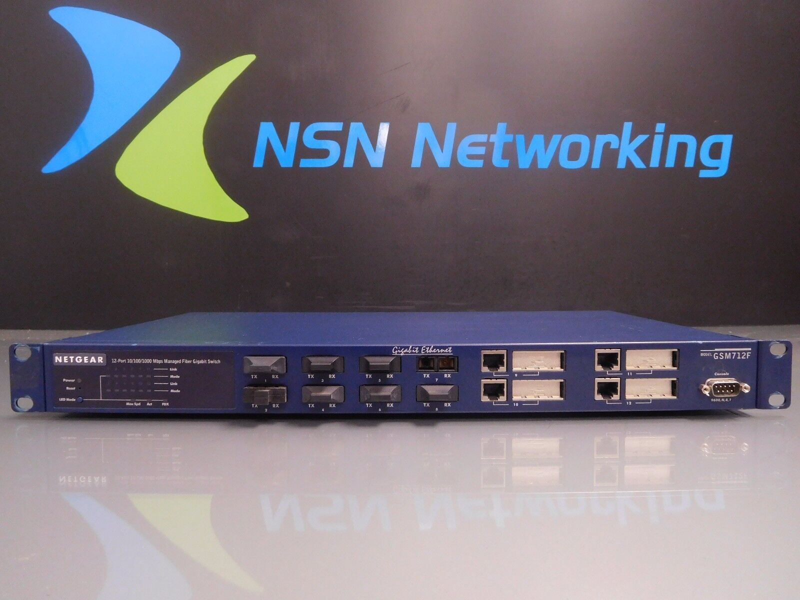 Driver UPDATE: NETGEAR GSM712F Switch