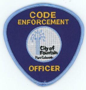 CORTEZ COLORADO CO POLICE COLORFUL PATCH SHERIFF
